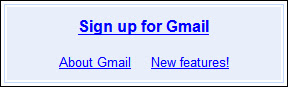 Gmail Old Signup