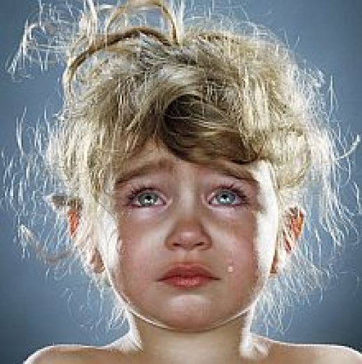 HQ wallpapers free download : cute little girl crying wallpapers