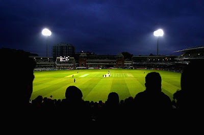 day night cricket match stadium india
