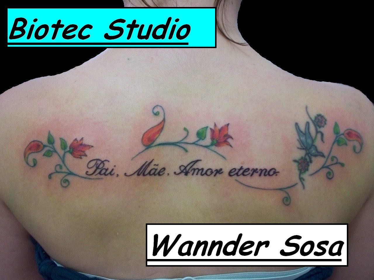 Biotec Studio Tattoo E Body Piercing Pai Mãe Amor Eterno
