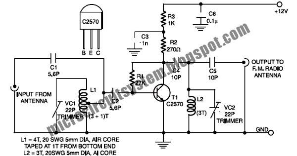 fm booster circuit