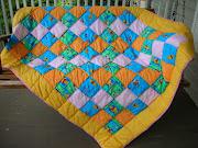 WinniethePooh and Piglet quilt