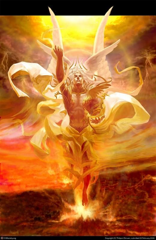 Seraphim (שְׂרָפִים , שָׂרָף )