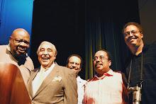Cal Ramsey, Congressman Charles Rangel, Dr.Keith Hunter, Glenn Hunter& Ken Sargeant