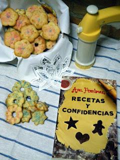 Sorteo Libro Recetas y Confidencias y ¡Dispara la Masa! - pistola para galletas