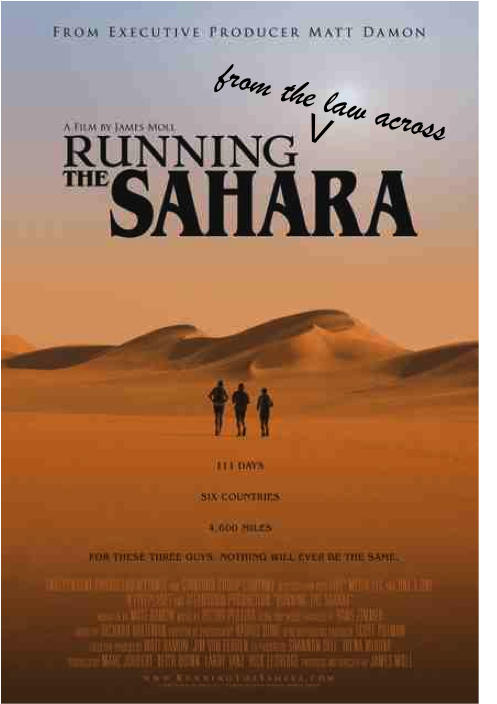 Charlie Engle, the addict-turned-ultrarunner who joined two buddies to run 4,300 miles across the Sahara (chronicled in the film Running The Sahara), ...