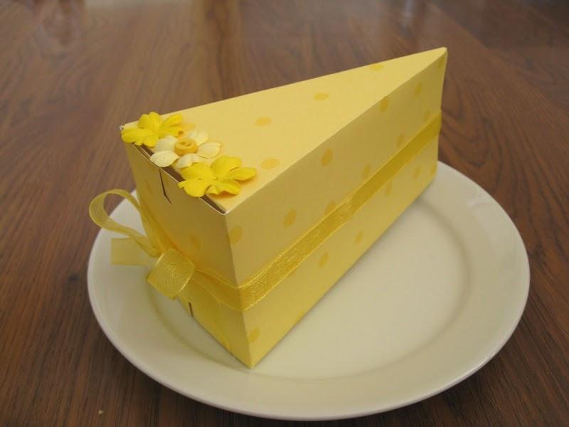 The Paper Pony: Cake Slice Box