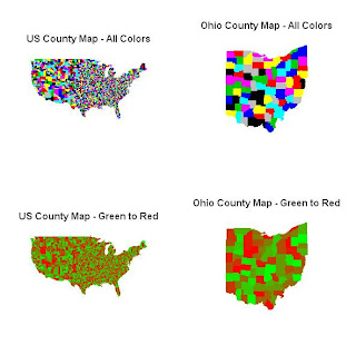 Comments Encouraged October - Us county map in r