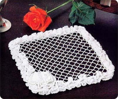 toalhas em croche em croche com receitas