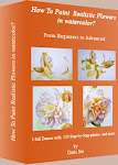 My E-book: How to Paint Realistic Flowers in Watercolor
