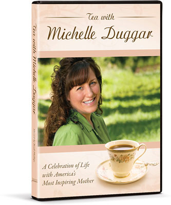 Looketh Well . . .: Tea With Michelle Duggar: Review and Give Away