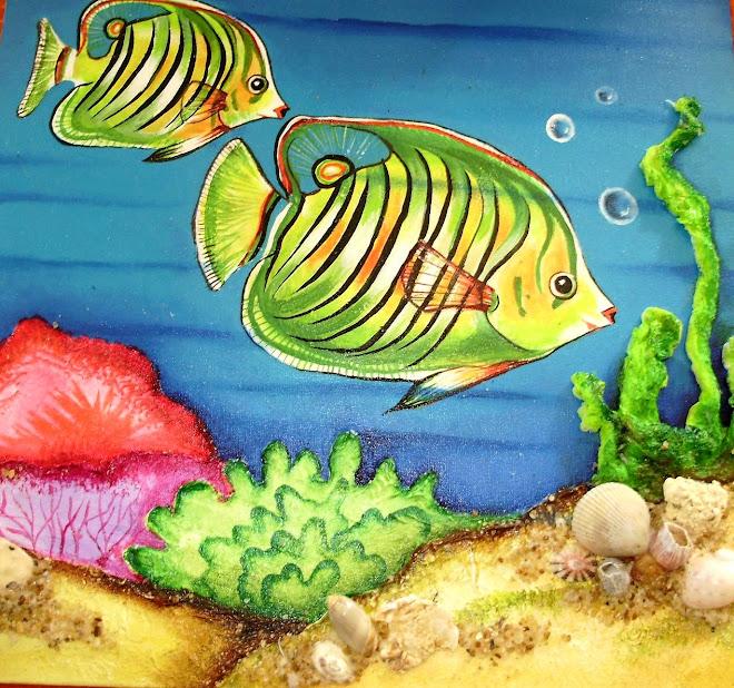 Peixes de mil cores...
