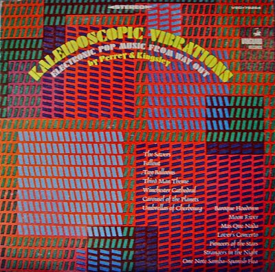 JEAN-JACQUES PERREY & GERSHON KINGSLEY - KALEIDOSCOPIC VIBRATIONS (1967)