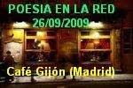 """Encuentro """"POETAS EN LA RED"""" - Cena-Tertulia de amigos blogeros (Café Gijón - Madrid)"""