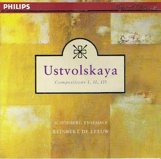 Composition I-III de Ustvolskaya. Reinbert de Leeuw