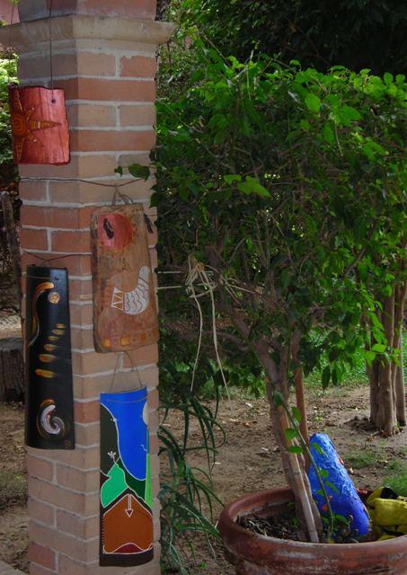 Tegole decorate artisticamente da Danilo Mascia - tutti i diritti riservati -