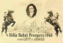 - Cartão dos políticos Lott & Jango