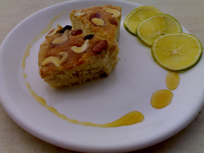 nutty cake