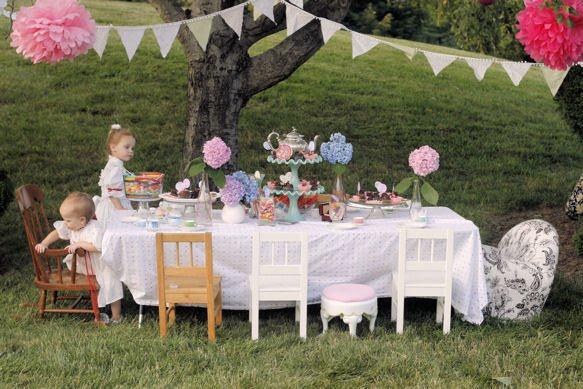 Livin 39 The Dream Garden Tea Party