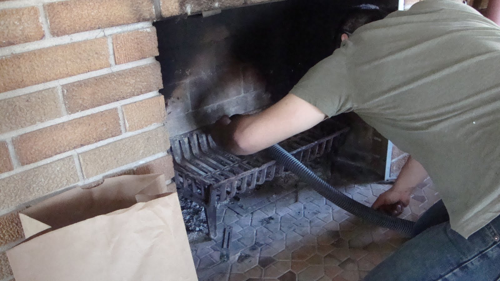 J K Homestead Diy Let The Fireplace Transformation Begin