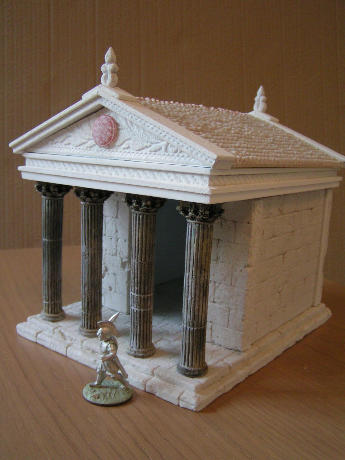 Dampf S Modelling Page Greek Temple In 28mm 40mm