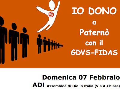 Download image Gruppo Donatori Volontari Sangue Fidas Patern Febbraio ...