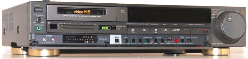 Sony Ev S900 Video Hi8 8mm Vcr Digital on teac retro radio cd player