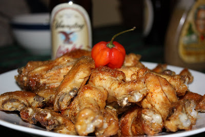 Recipe Baked Chicken Wings and Sweet Heat Pineapple Habanero Hot Sauce ...
