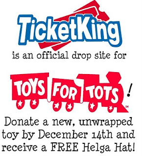 Ticket King teams up with Toys for Tots