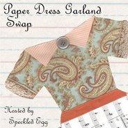 Paper dress swap!