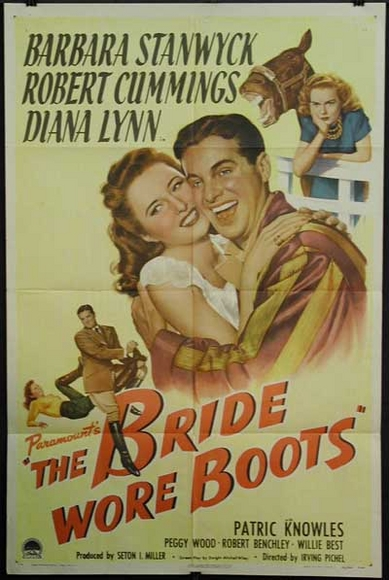 The Bride Wore Boots movie