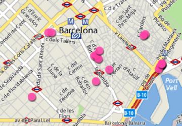 Barcelona, ciudad quiosquera