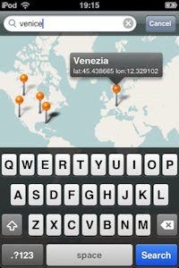 Open Maps Application