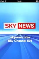 Sky News mobile app