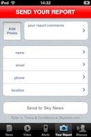 Sky News for iPod Touch