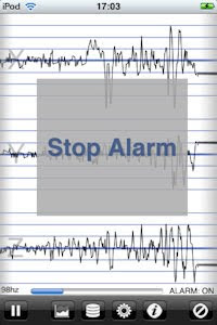 iseismometer app - if the noise of your house falling down in an earthquake does not wake you this might!