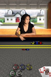 Texas hold em app.She does smile occasionally - honest