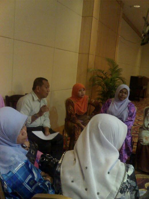 Sesi perbincangan bersama Penyelia PPIK seluruh Negeri Selangor.