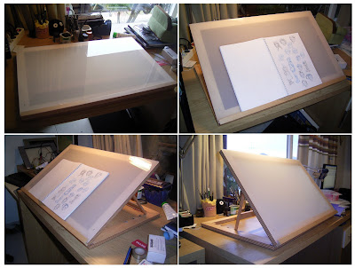 Janina g rrissen illustration mesa de dibujo - Mesa de dibujo para arquitectura ...