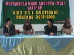 Kandidat Calon Ketua OSIS Periode 2007/2008