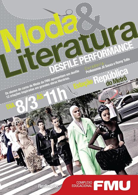 MODA E LITERATURA -2010- metrô