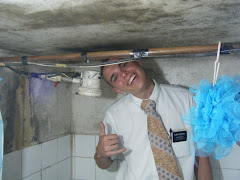 Mike in the ZL's shower