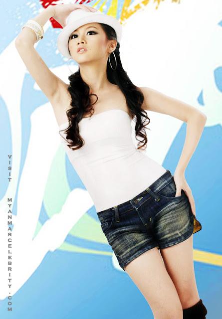 Myanmar Lovely Model, Su Htoo Eaindra with beautiful