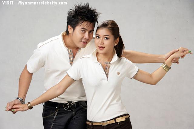 Myanmar Famous Actor Nay Toe And Famous Actress Eaindra Kyaw Zins Couple Fashion Photos