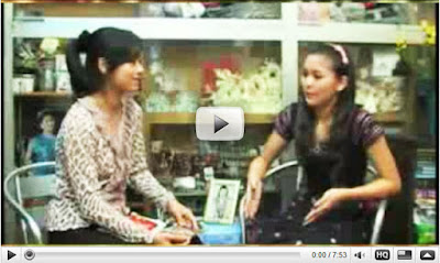 MRTV4 Interviewed with Myanmar Popular Model and Singer, Jenny at ...