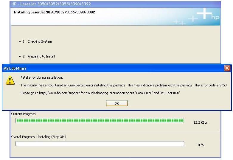 troubleshooting fatal error 2753 during installation of hp printer rh itechnicalsupportdubai blogspot com HP LaserJet 2010 HP Ink 2010