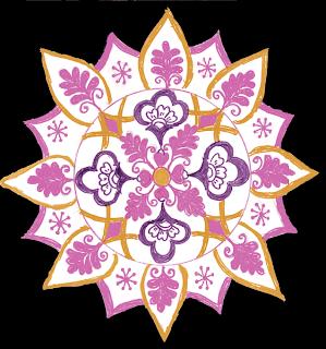 Chittara Rangoli Design Floor
