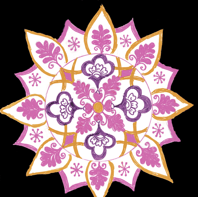 Rangoli design for floor chittara rangoli pattern designs for Floor rangoli design