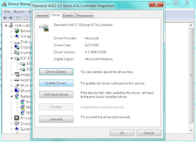 4 Responses to AHCI 1.0 SERIAL ATA CONTROLLER DRIVER. Sign Up. RSS.