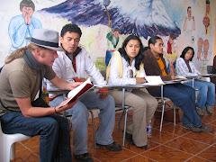 Encuentro de Poesía Zarandearte, Riobamba, 2007.